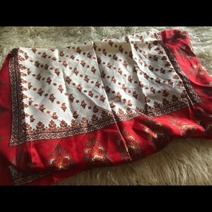 Accessories - NWOT-Bohemian Square Silk Scarf